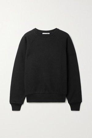 Net Sustain Rio Organic Cotton-jersey Sweatshirt - Black