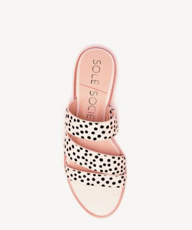 Sole Society Simonaa Asymmetrical Flat Sandal | Sole Society Shoes, Bags and Accessories
