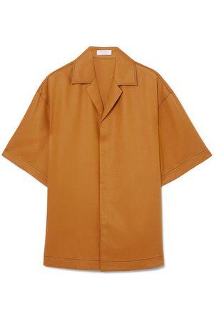 Deveaux | Resort oversized Tencel shirt | NET-A-PORTER.COM