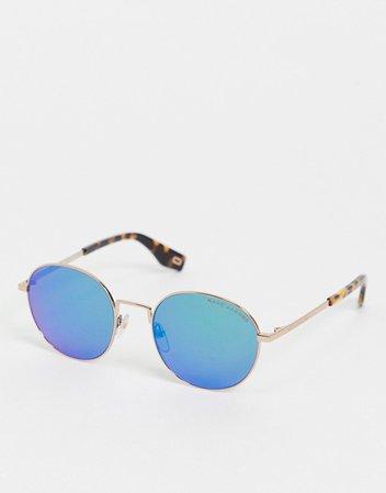 Солнцезащитные очки с синими стеклами Marc Jacobs 272/S   ASOS