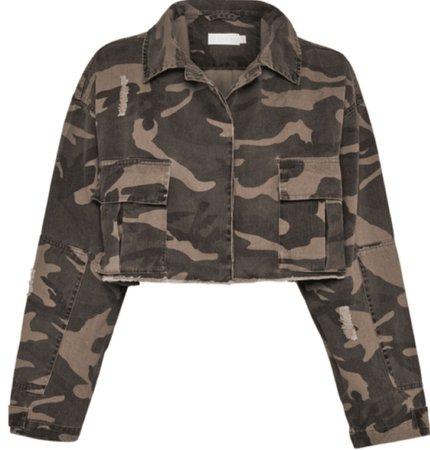 crop camo jacket