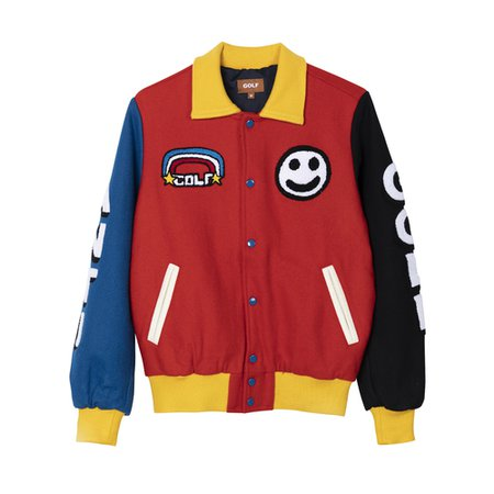 PRIMARY VARSITY JACKET by GOLF WANG - GOLF WANG