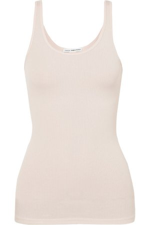 James Perse | The Daily ribbed stretch-Supima cotton tank | NET-A-PORTER.COM
