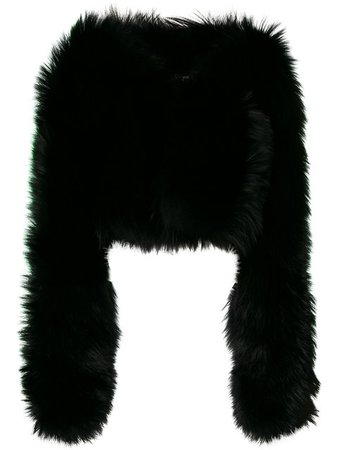 Dsquared2 Fox Fur Jacket - Farfetch