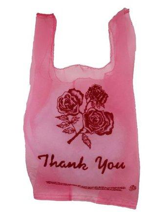 pink trash bag png filler aesthetic moodboard