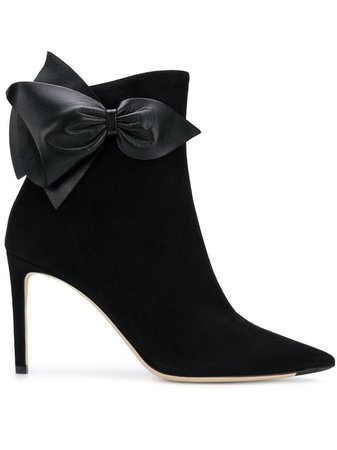 Jimmy Choo Bow Ankle Boots - Farfetch