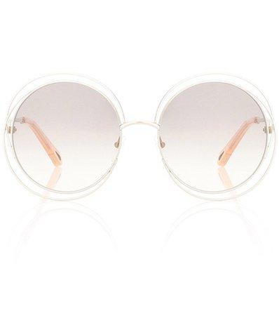Carlina round sunglasses