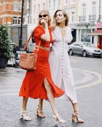 midi dress pinterest - Google Search