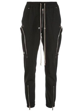Rick Owens Zipped Bauhaus Cargo Trousers - Farfetch