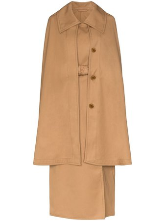 Lemaire, Cape Belted Trench Coat