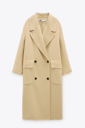 LIMITED EDITION WOOL BLEND COAT | ZARA United States