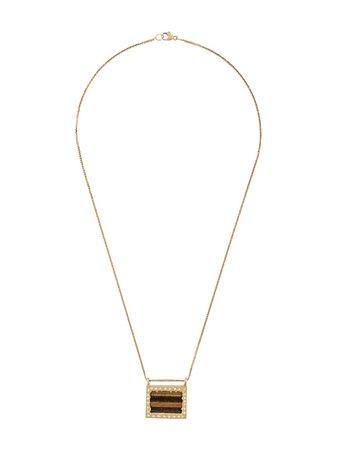 Elhanati 18Kt Gold Diamond Palermo Necklace SW010102 | Farfetch
