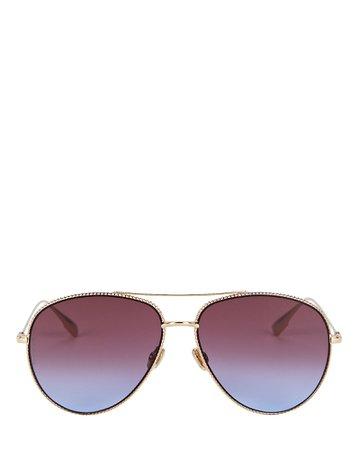 Dior DiorSociety Aviator Sunglasses | INTERMIX®