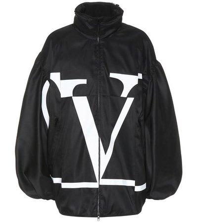 Go Logo technical jacket