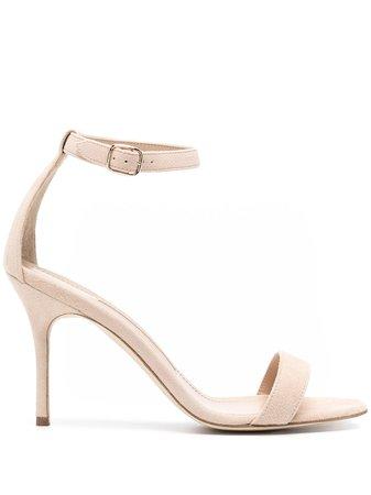 Manolo Blahnik Heeled Leather Sandals - Farfetch