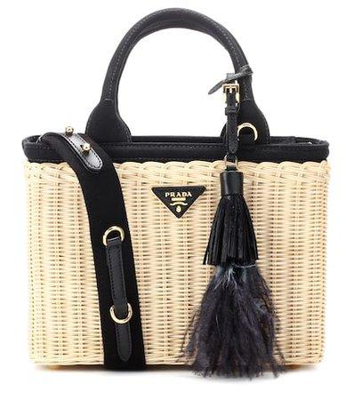 Bamboo basket bag