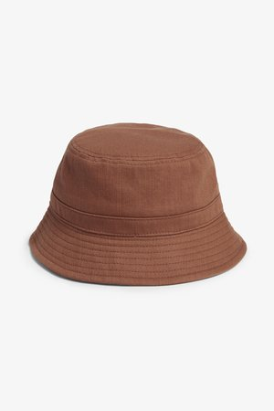 Bucket hat - Rust brown - Hats, scarves & gloves - Monki WW
