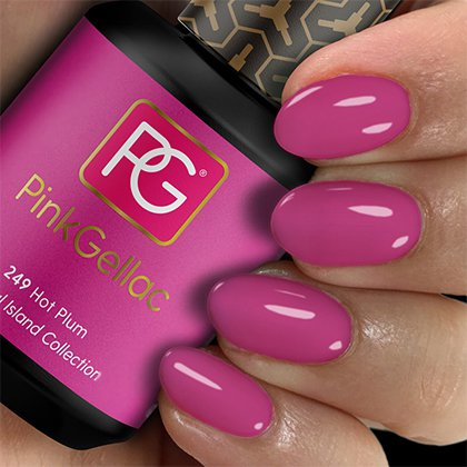 249 Pink Gellac Hot Plum