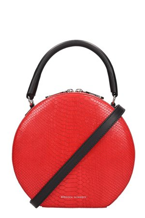 Rebecca Minkoff Red Leather Bag