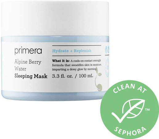 Primera - Alpine Berry Water Sleeping Mask
