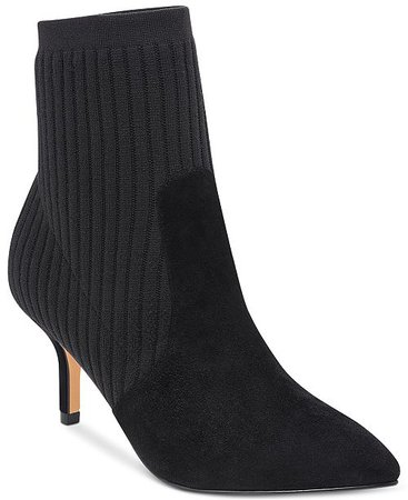 Marc Fisher Albinia Sock Booties & Reviews - Boots - Shoes - Macy's
