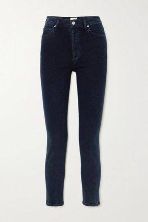 Blue Olivia high-rise slim-leg jeans | Citizens of Humanity | NET-A-PORTER