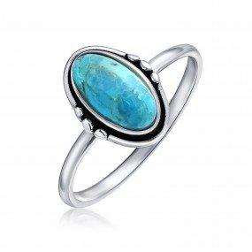 Western Blue ring