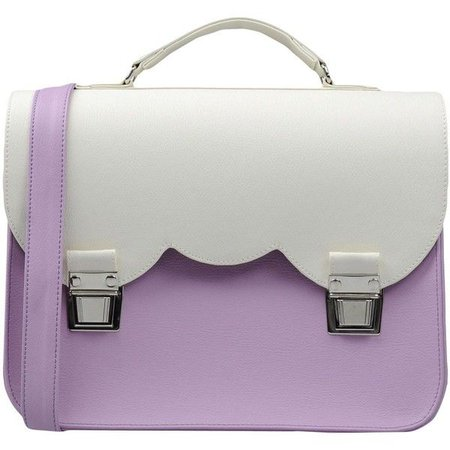 lilac and white purse - Google Search