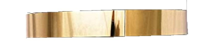 gold metallic belt