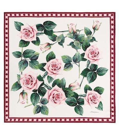 Exclusive To Mytheresa – Printed Scarf - Dolce & Gabbana | Mytheresa