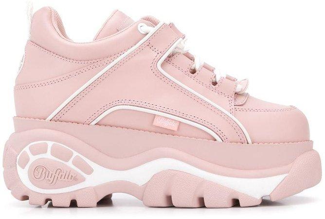 Ridged Sole Sneakers