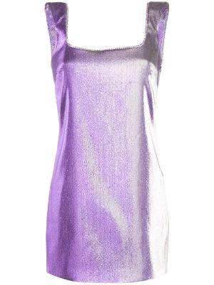 Metallic Dress- Farfetch