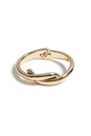 **Twist Knot Hinge Bracelet   Topshop