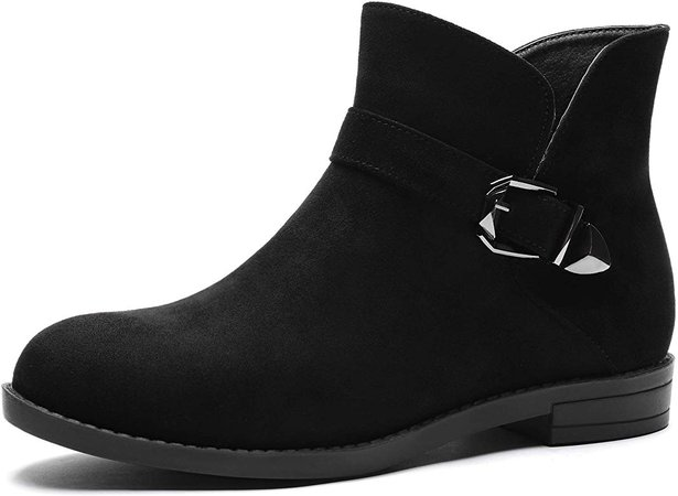 Ankle Boots Low Heel Western