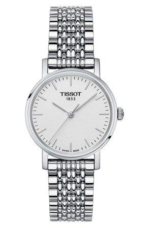 Tissot Everytime Bracelet Watch, 30mm | Nordstrom