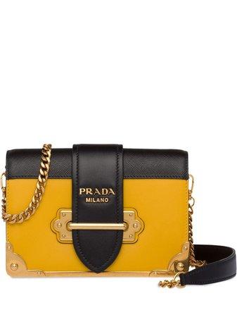 Prada Cahier Shoulder Bag - Farfetch