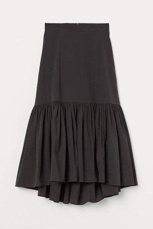 Long Skirt - Gray