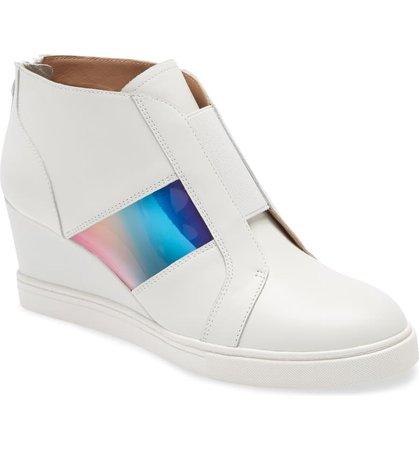 Linea Paolo Flortent Wedge Sneaker (Women) | Nordstrom