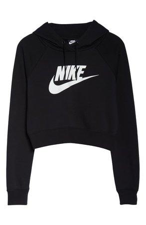 Nike Sportswear Essential Crop Hoodie | Nordstrom