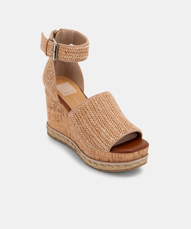 OTTO WEDGES IN NATURAL – Dolce Vita