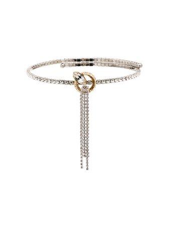 Miu Miu Drop Chain Choker Necklace - Farfetch