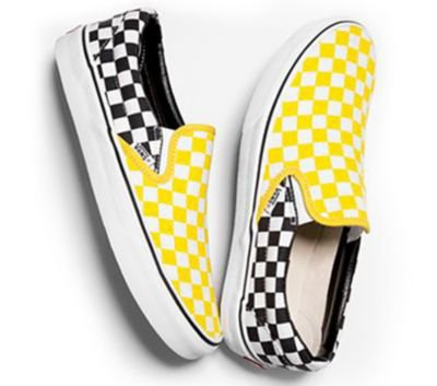 Vans Customs Checkerboard Slip-On