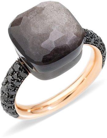 Nudo Maxi Stone & Diamond Ring