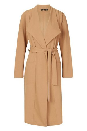 Utility Pocket Belted Duster | Boohoo