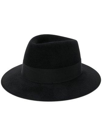 Saint Laurent Wide Brim Fedora Hat
