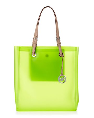 lime green and clear tote bag - Google Search