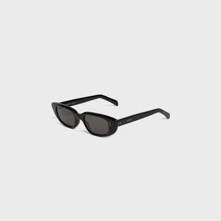 Cat Eye sunglasses in Acetate - Black | CELINE