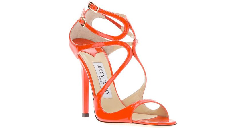 orange high heels - Google Search