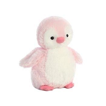 pink penguin plush