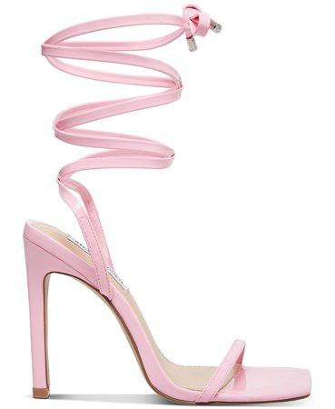 Steve Madden Women's Uplift Ankle-Tie Sandals & Reviews - Sandals - Shoes - Macy's